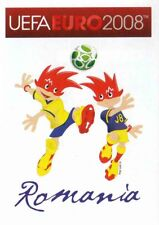 Panini Sticker Fußball Euro 2008 Nr. 306 ROM Romania Mascots / Maskottchen NEU