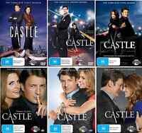 Castle Series : Complete Season 1 2 3 4 5 6 DVD : NEW
