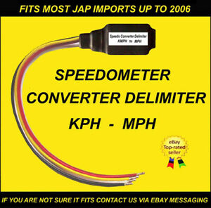 FITS MITSUBISHI GTO FTO EVO 4 5 6 7 8 9 SPEEDOMETER CONVERTER DELIMITER