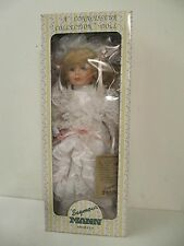 "Seymour Mann A Connoisseur Collection Betty Bride Doll Mib 16"" Mint Gorgeous"