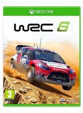 WRC 6: FIA World Rally Championship [Xbox One XB1, Region Free, 2016 Racing] NEW