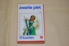 Old Antique Black Pete Dutch 1968 Jumbo Quartet 4 Player Card Game Sinterklaas