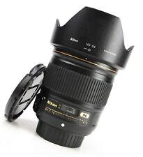 Nikon AF-S Nikkor 28mm F1.8 - Focale Fissa G anteriore e posteriore dell'obiettivo CAPS + Cappuccio