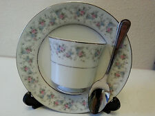 Saucer cup spoon Display CHERYL china by Fine China of Japan