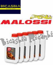 13095 - KIT 72 CONFEZIONI DA 1 LITRO OLIO MOTORE MALOSSI 7.1 5W40 SPORT ENGINE
