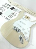 HSST 1910MF ST Style,Complete No-Soldering Electric Guitar DIY,SSS,Solid Body