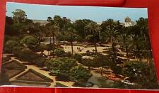 Vintage Color Photograph Postcard, Sevilla, The America Square, Vg Cond