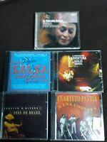 CUARTETO PATRIA,PAQUITO D'RIVERA,CARLOS GARDEL/BACALOV,PORTUONDO, SALSA - 5 CD