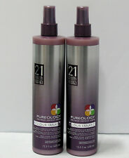 (2) Pureology Colour Fanatic Leave In Condition 21 Benefits 13.5 oz Duo Set Pack
