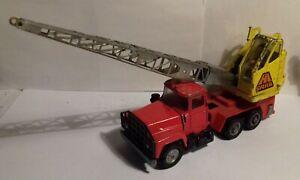 Vintage 1970s Corgi 1154 Mack crane truck lorry, spares or repair
