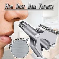 Mini Nose Hair Trimmer Waterproof Mini Nose Hair Ear Trimmer Shaver Clipper