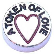 A Token of Love Floating Charm for Glass Living Memory Locket Love of my Life