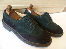Church Suede Lace-up Round Toe Formal Shoes for Men