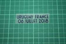 FRANCE World Cup 2018 Away Shirt Match Details URUGUAY Vs FRANCE
