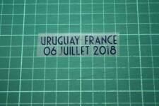 FRANCE World Cup 2018 Away Shirt Match Details URUGUAY Vs FRANCE