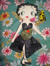 "16""-1999-Kellytoy Runway Betty Boop Stuffed Figure Figurine Doll"
