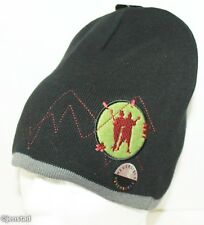 TENACIOUS D IN THE PICK OF DESTINY KNIT REVERSIBLE BEANIE CAP NWT BLK/GRAY 2006