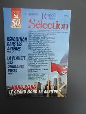 Selection 50 ANS Reader's Digest Magazine Juillet 1997 Francais  Neuf  HONG KONG