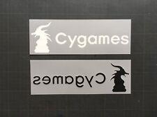 CYGAMES JUVENTUS HOME/3RD SPONSOR SERIE A TRANSFERT CALCIO DEKOGRAPHICS 17-18
