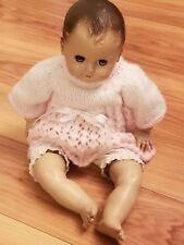 Vtg American Character Doll Molded Head Fabric Body Hard Arms & Legs Sleepy Eyes