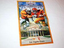 "Texas Longhorns Football '06 Rose Bowl LA Times Bonus Poster 20"" x 12"" NEW RARE!"