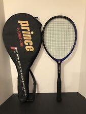 Prince Precision Mono 650 Power level 96 head 4 1/2 Tennis Racquet With Case