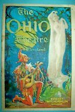 Theater Souvenir Programs (Pre-1940)