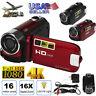 Digital Video Camera 4K HD Camcorder TFT LCD 24MP 16x Zoom DV AV Night Vision US