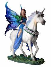 "10.5"" Anne Stokes Realm of Enchantment Statue Fantasy Fairy Unicorn Dragon"