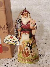Jim Shore Woodland Scene Santa Ornament