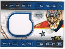 2003-04 03-04 UPPER DECK UD PATCH CARDS SAVIORS SERIES 2 #SV-2 ROBERTO LUONGO !!