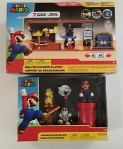 SUPER MARIO BROS. Deluxe Dungeon Playset and Dungeon Diorama
