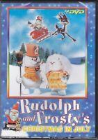 DVD Rudolph y FROSTY'S Christmas en July Nuevo 1979