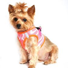 American River Free Step In Dog Harness Neon Sport Ultra Choke Washable Fabric