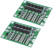 Organizer 2pcs 4S 40A Li-ion Lithium Battery 18650 Charger Pcb Bms Protection Bo