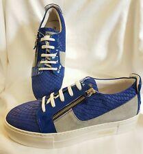 Zapatos Zapatillas Deportivas Hombres Zapatillas De Deporte Azul Serpiente Gr 41