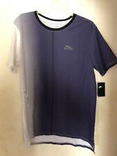 Nike Dip Dye Foam T-Shirt - Men's White/Purple  STYLE AA8669-100 SZ Large