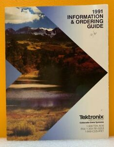 Tektronix / Colorado Data Systems 1991 Information and Ordering Guide (Catalog).