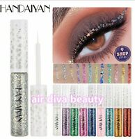 Eye Shadow Makeup Glitter Super Shine Shimmer Diamond Liquid Eyeliner Eyeshadow