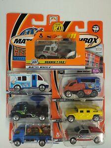 Matchbox 1/64 Diecast Truck Lot #1