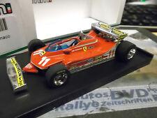 F1 FERRARI 312 T4 GP Monaco 1979 #11 Scheckter World Champion Brumm 1.43
