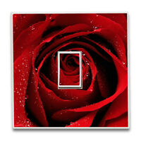 Wall Decals Luxury Flower Rose Vinyl Wall Stickers