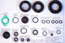 Kawasaki late H1, 21pcs Oil Seal Kit, Transmission, Cover, crankshaft, engine