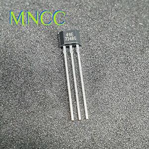 1~20pc SS49E (49E) Ratiometric Linear Hall Effect Sensor Hall Sensor TO-92UA