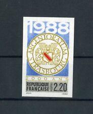 Francia n. 2688 U ** ungezähnt 2000 anni città di Strasburgo!!! (125465)