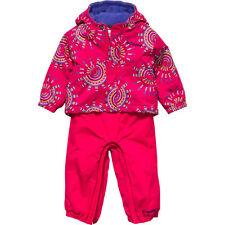$90 Columbia 6-12 month toddler ski bib Snowfall Fun coat pants jacket girl Buga