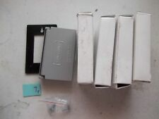 LOT OF 4 NEW IN BOX CROUSE HINDS WLGF FS GFCI RECEPTACLE COVER (303)