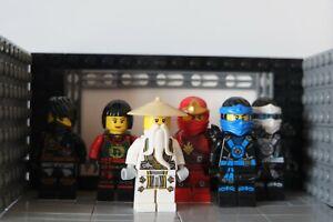 BUNDLE! Lego (GENUINE) Ninjago ninja pack! All the ninjas and sensi wu!