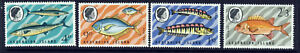 ASCENSION QE II 1970 Fish (3rd. Series) Set SG 126 to SG 129 MINT