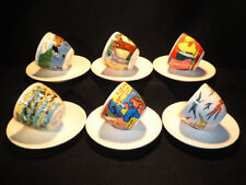 illy espresso cups artist collection 1998 Los Ninos Cambieremos el Mundo in box